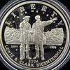 2004 Lewis & Clark Proof Silver $1 Coin &Pouch Set