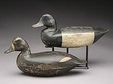 Two decoys from New Jersey.