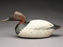 Canvasback drake, Mason Decoy Factory, Detroit, Michigan.