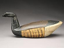 Very rare brant with cocked head, Giddeon Lippencott, Wading River, New Jersey, Last quarter 19th century.