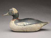 Extremely rare bufflehead drake, Mason Decoy Factory, Detroit, Michigan.