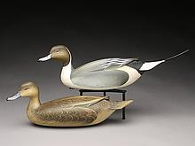 Hollow pair of pintails, George Strunk.