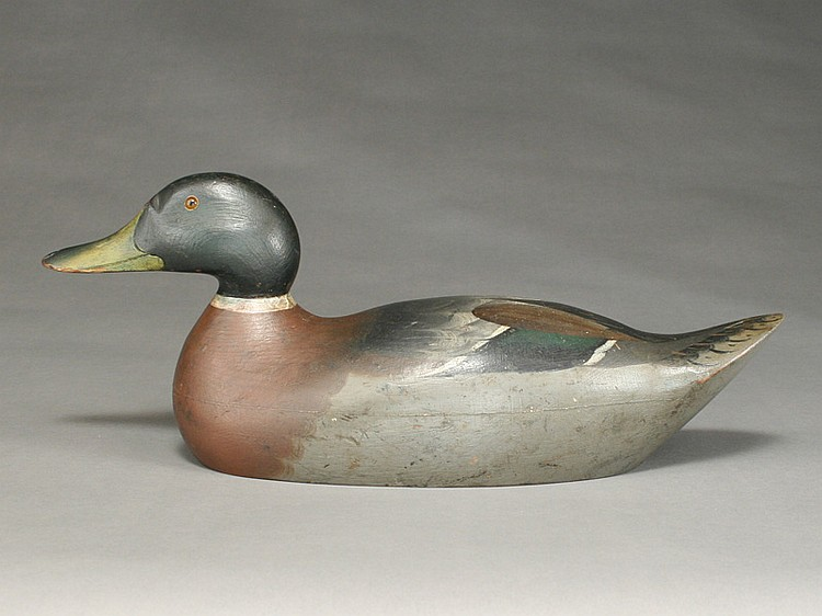 Mallard drake, Mason Decoy Factory, Detroit, Michigan.