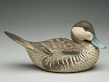 Decorative ruddy duck, Ward Brothers, Crisfield, Maryland.
