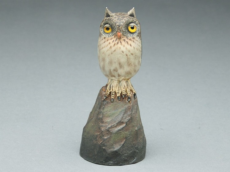 Owl, A.E. Crowell, East Harwich, Massachusetts.
