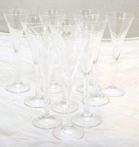 Cyrén, Gunnar för Orrefors, snapsglas, 10 st,