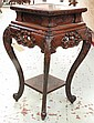 ASIAN CARVED OCCASIONAL TABLE