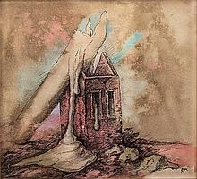 Samuel Bak - Ruins