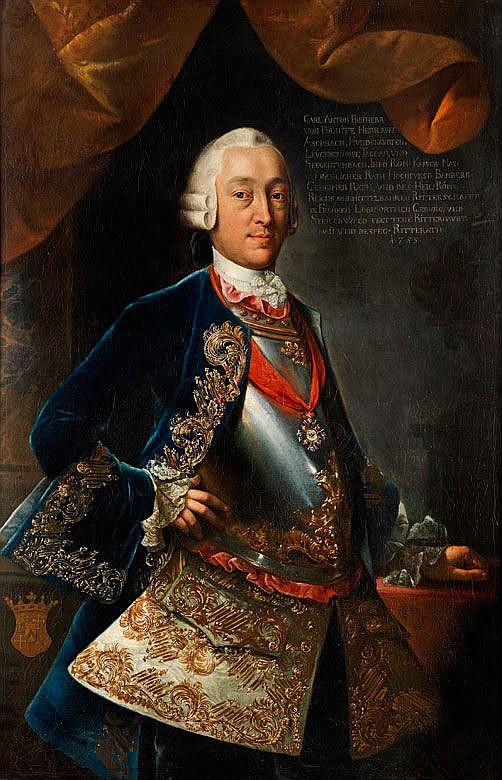 Fränkischer Hofmaler des 18. Jahrhunderts