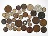 A quantity of coins.