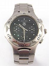 A gent's Tag Heuer Kirium chronograph wristwatch,