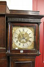 18th cent. Oak longcase clock 30 hours Thos