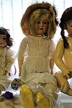 Dolls: Otto Reinecke bisque headed doll.