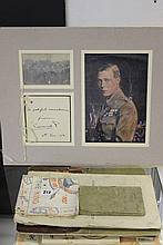 Royal memorabilia: Edward Duke of Windsor signed
