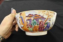 19th cent. Chinese Cantonese Famille Rose bowl.