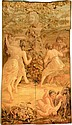 Tapestry de Aubosson antique (Portiere), France,
