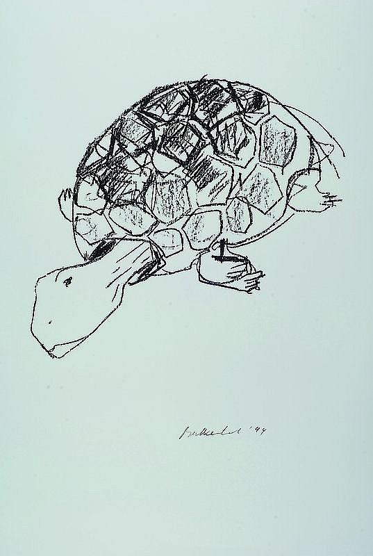 Balkenhol, Stephan, born 1957 Fritzlar, Turtle,