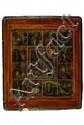 Festtagsikone, Russland, 19. Jahrhundert, zwölf