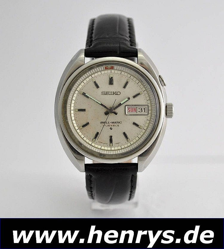 SEIKO Bell Matic Armbandwecker,, Japan um 1970,