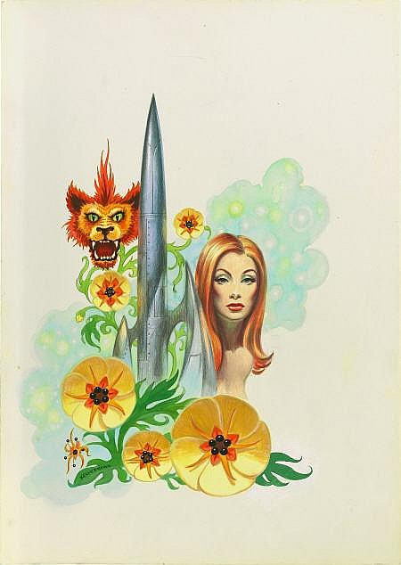 FRANK KELLY FREAS (American 1922 - 2005) Flower of