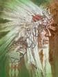 ROBERT PEAK (American, 1927-1992) Chief Running Fisher