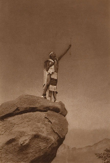 EDWARD SHERIFF CURTIS (American, 1868-1952) By the Arro