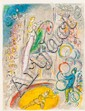 MARC CHAGALL (Belorussian, 1887-1985) Le Cirque, 1967 C