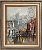 Les Colonnes, Venise (1967) by Regis (Count) de Bouvier, Regis de Bouvier De Cachard, Click for value