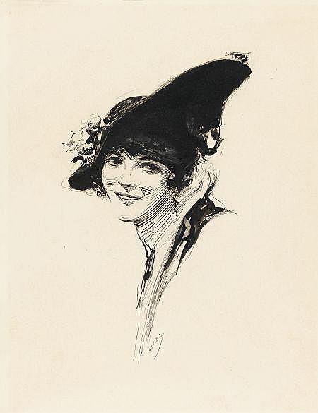 JOSEPH CLEMENT COLL (American, 1881-1921) Portrait