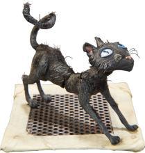 Coraline The Cat Original Animation Puppet (LAIKA, 2009