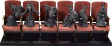 Coraline Miss Spink and Miss Forcible's Scottie Dogs Or
