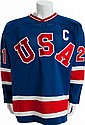 1980 Mike Eruzione Gold Medal Game Worn USA Olympic Hoc