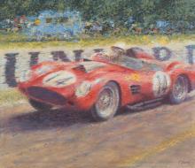 PETER HEARSEY (British, 20th/21st Centuries) Ferrari 25