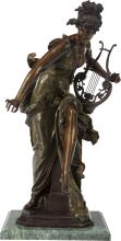 A FRENCH COLD PAINTED BRONZE FIGURE AFTER ALBERT-ERNEST