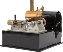 LIVE STEAM MODEL TOY HOT-AIR ENGINE POWER PLANT 10 x 12