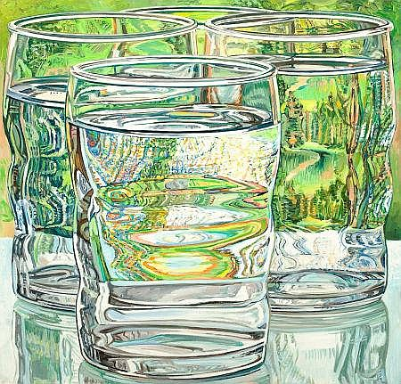 JANET I. FISH (American, b. 1938) Skowhegan Water Glass