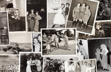 A Group of Black and White Film Stills, 1930s-1940s.