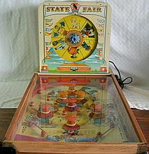 1950'S STATE FAIR PINBALL GAME SUPERIOR TOYS N.Y - MODEL #1640