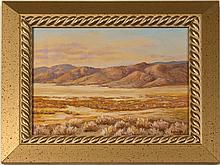 Desert Hills Oil Painting by Emily Garavinta