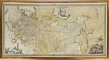 Map: Tabula Geographica Generalis Imperii Russici ad normam novissimarum observatiionum astronomicarum concinnata a Ioh Trescolio et Iac. Schmidio