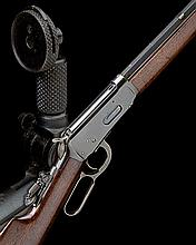WINCHESTER REPEATING ARMS CO. A GOOD .32-40 (W&B) LEVER-ACTION REPEATING SPORTING RIFLE, MODEL '1894', serial no. 303172,