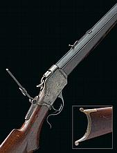 * WINCHESTER REPEATING ARMS, USA A RARE .38-55(WIN) SINGLE-SHOT UNDER-LEVER TARGET-RIFLE, MODEL '1885 HIGHWALL 'SWISS-STYLE', serial