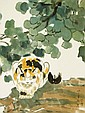 徐悲鴻 (1895 - 1953) 貓 Xu Beihong  Cat