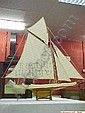 Reproduction Model of Sailing Yacht