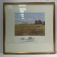 Peter Munro. St Andrews, the Clubhouse. Limited