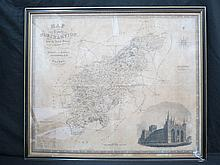 Map of the County of Northampton by J&C; Walker