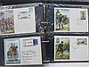 GB, army theme stamps, commemorative covers wit