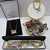 A quantity of assorted costume jewellery including