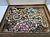 A quantity of costume jewellery comprising mostly