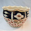 A 19thC Crown Derby Ware large jardiniere with